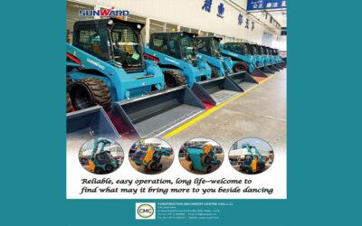 """CMC – Advt. Feature """"ME CONSTRUCTION Machinery"""" Magazine"""