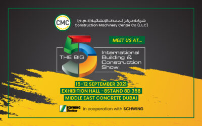 """CMC participates in """"The Big 5 International Building & Construction Show"""" between 12 – 15 September 2021"""