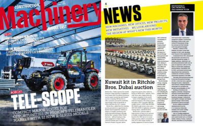CMC Featured in ME Construction Machinery Magazine – July Issue