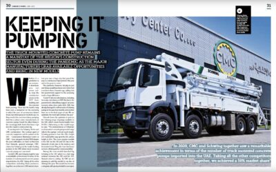 CMC Featured in ME Construction Machinery Magazine – June Issue